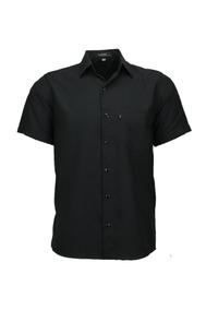 Camisa Microleve Manga Curta - Preta - Ref 440