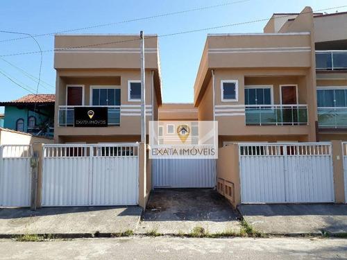 Imagem 1 de 26 de Casas 02 Suítes, Com Total Infraestrutura, Cidade Beira Mar, Rio Das Ostras. - Ca0934