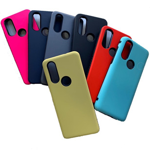 Funda Alto Impacto Motorola Moto One Action + Glass 6d Full