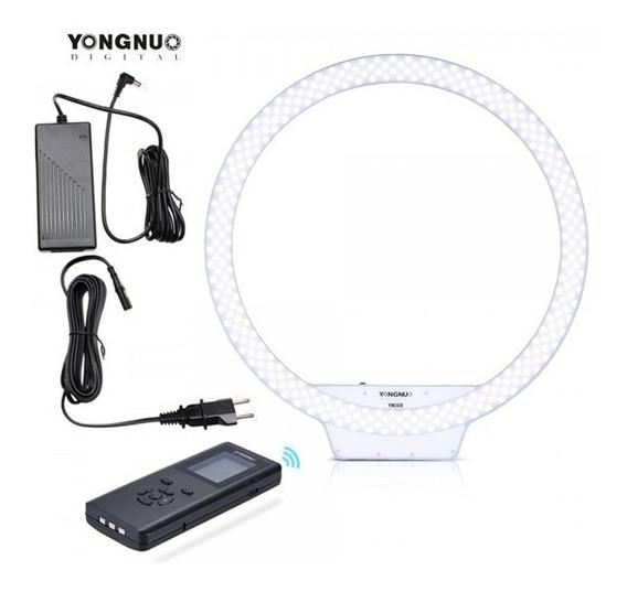 Iluminador De Led Ring Light Yongnuo Yn-608 + Fonte 608