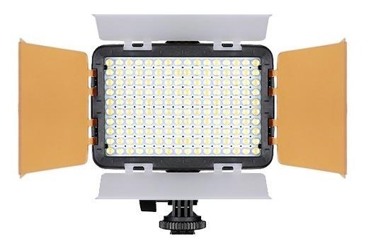 Iluminador Led Foto Vídeo 160 Turbo Canon Eos Rebel T6 Gray