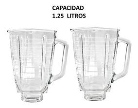 Vasos De Vidrio Original Para Licuadora Oster 2pzas C/envío