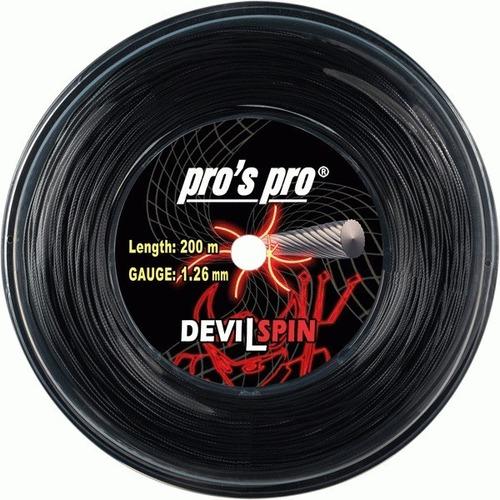 Rollo Cuerda Tenis Pros Pro Devil Spin 1.26 Made In Germany