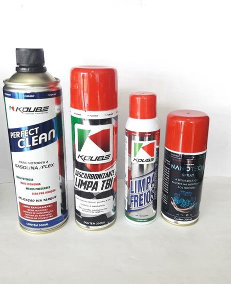 Kit Automotivo Perfect Clean Nanotech Limpa Tbi Limpa Freios