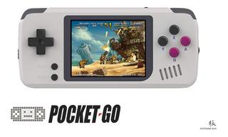 Pocketgo-v1.3 Cfw Miniconsola Retrogaming Micro Sd Kitsune