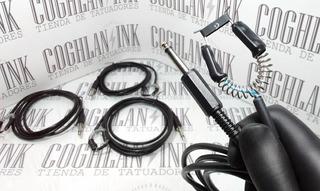 Tattoo Clipcord Plug Nacional Cable Grueso Tatuar Tatuajes