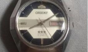 Relógio Orient Automático 21jewels 3 Estrelas Dec.70