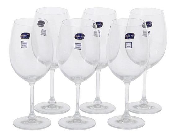 Cristalium Titan Taça Vinho 450 Ml C/6 Incolor