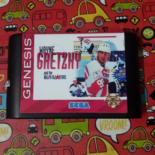 Juego Sega Hockey Wayne Gretzky And The Nhlpa All-stars