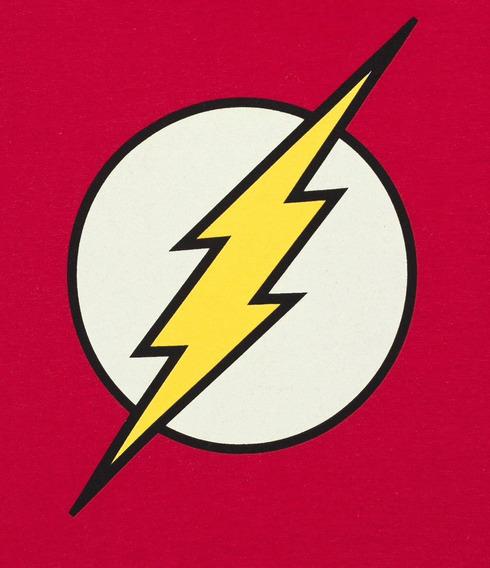 Camiseta The Flash Logo Dc Comics
