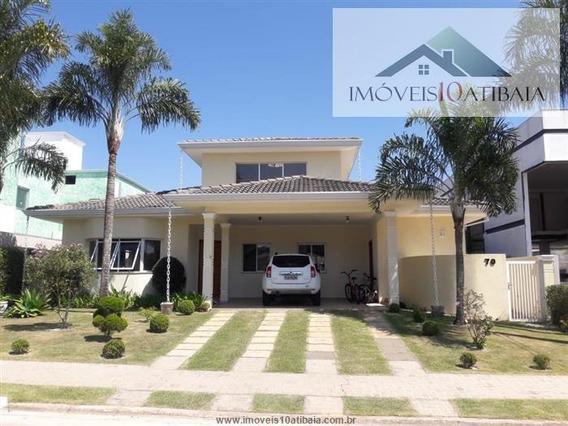 Casas Em Condomínio À Venda Em Atibaia/sp - Compre O Seu Casas Em Condomínio Aqui! - 1453343