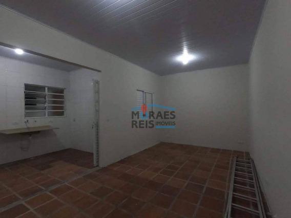 Edícula Com 1 Dormitório Para Alugar, 30 M² Por R$ 1.500,00/mês - Campo Belo - São Paulo/sp - Ed0001