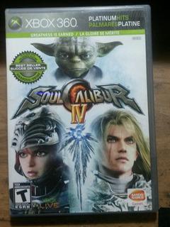 ** Soul Calibur Iv Para Tu Xbox 360 **