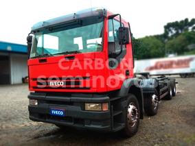 Iveco Eurotech 740e42tzn 8x4, Carregado De Potência!