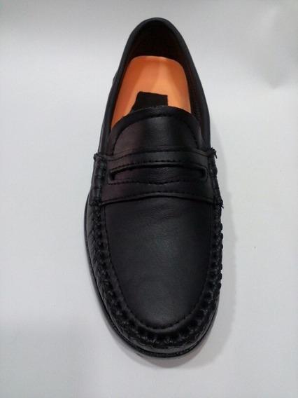 Zapato Escolar, Cuero