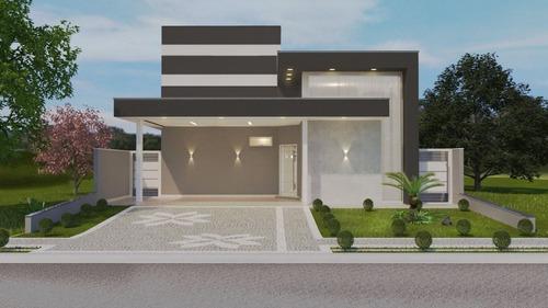 Imagem 1 de 5 de Casa Em Condomínio Terras Do Cancioneiro Com 3 Suites À Venda - Ca7351