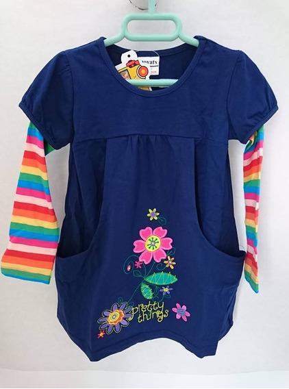 Vestido Blusón Niña Entre T 3-4