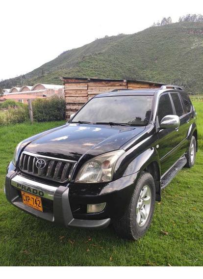 Toyota Land Cruiser Prado Vx Europea Negra 5 Puertas,3.000c