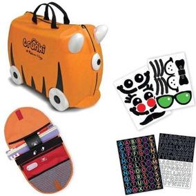 Trunki Incluye Stikers, Saddle Bag Y Bolsa Tote