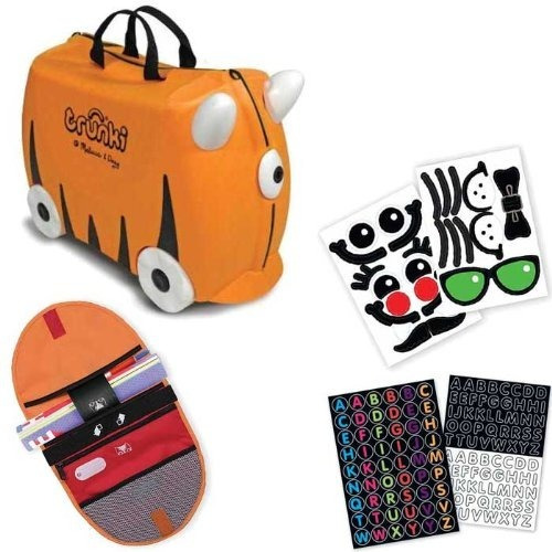 Trunki Incluye Stikers, Saddle Bag Y Bolsa Tote