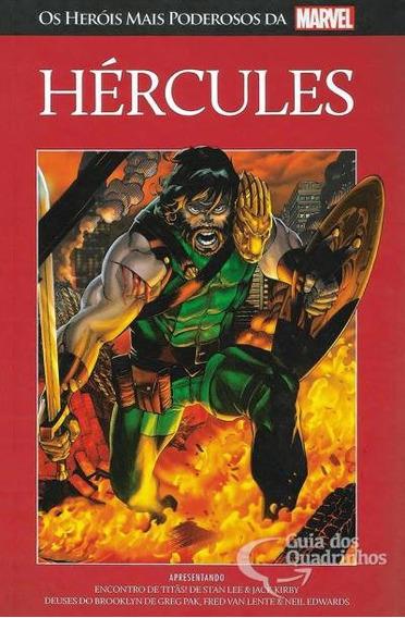 Salvat Heróis Mais Poderosos Da Marvel N° 46 - Hércules