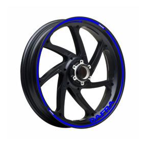 Adesivo Friso Refletivo Roda Moto Dafra Citycom S 300i Azul
