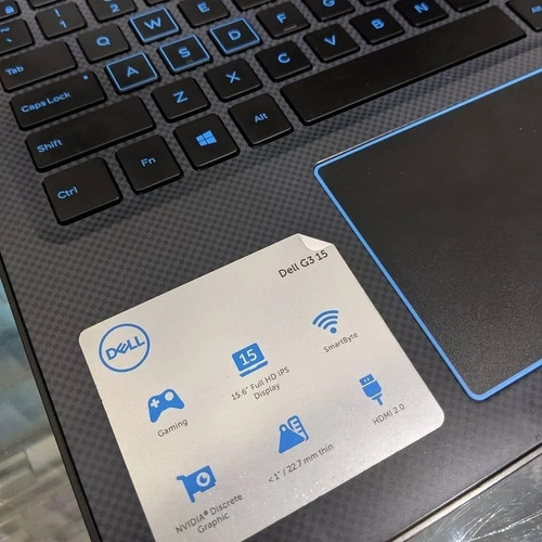 Notebook Gamer Dell G3 I7-8750h 15.6 1tb 128gbssd Gtx 1050ti