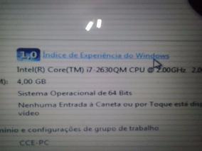 Notebook Cce I7