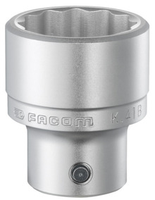 Vasos Encastre De 3/4 12 Caras 41 Mm Facom K.41b