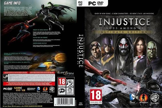 Injustice Gods Among Us Pc (midia Física)