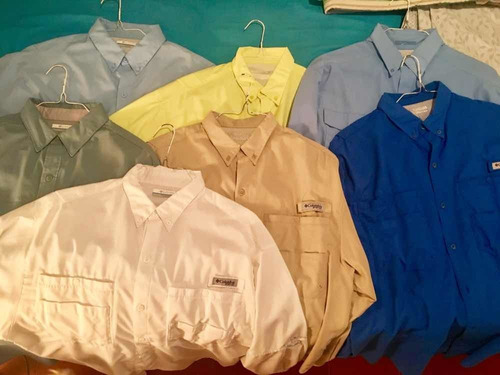 Camisas De Pesca Columbia Tamiami Originales