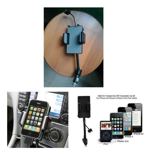 Cargador, Auxiliar Y Reproductor Fm Para Iphones Y iPod