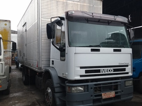 Iveco Eurocargo 160e21 Ano 2000 Toco Bau 7.20 Mts