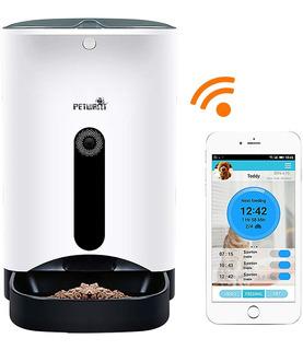 Petwant Dgr-mp-03 Alimentador Smart Mascotas Wifi+ Cam + Voz