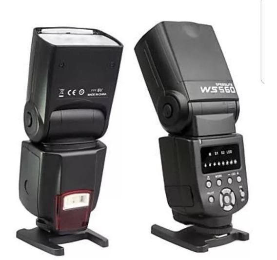 Flash Wansen Speedlite Ws-560 Universa Flashg Novo Na Caixa