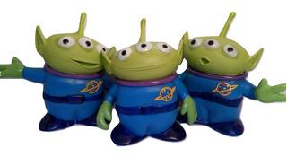 Alien Marciano Toy Story Chiflete 16cm 3 Juntos Envio Gratis