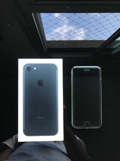 iPhone 7 Preto Fosco 128gb Perfeito !!!