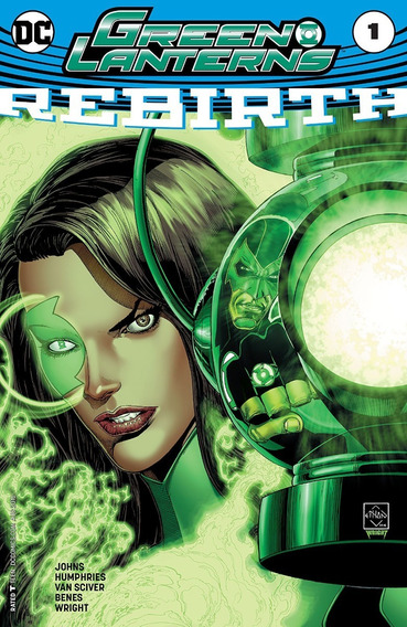 Green Lanterns Rebirth #1 (2016) Dc Comics