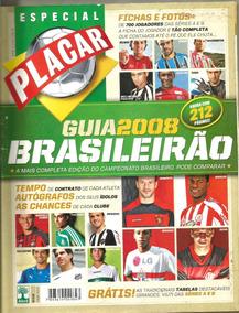 Revista Placar - Guia Brasileiro - Séries A E B De 2008