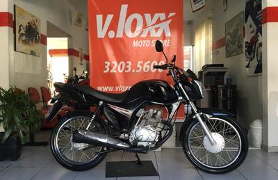 Honda Cg 125 I Fan Preta 2016