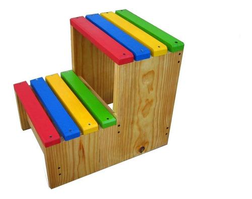 Imagen 1 de 1 de Ingeniacrea: Torre Aprendizaje Montessori Banco 2 Pasos