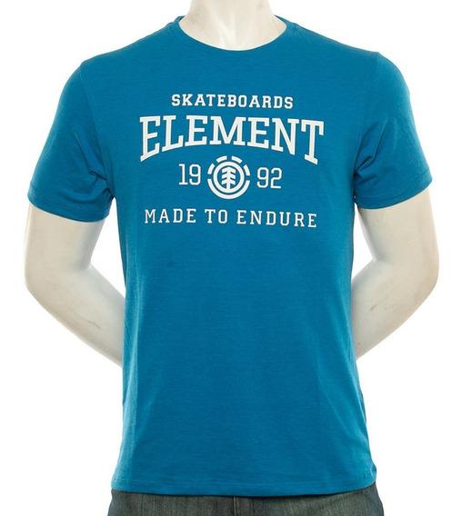 Remera Element Victory Tee Hombre Azul