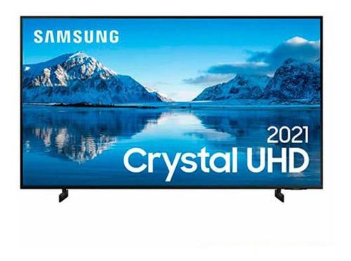 Imagem 1 de 9 de Samsung Smart Tv Crystal Uhd 4k 55 , Slim, Alexa - 55au8000