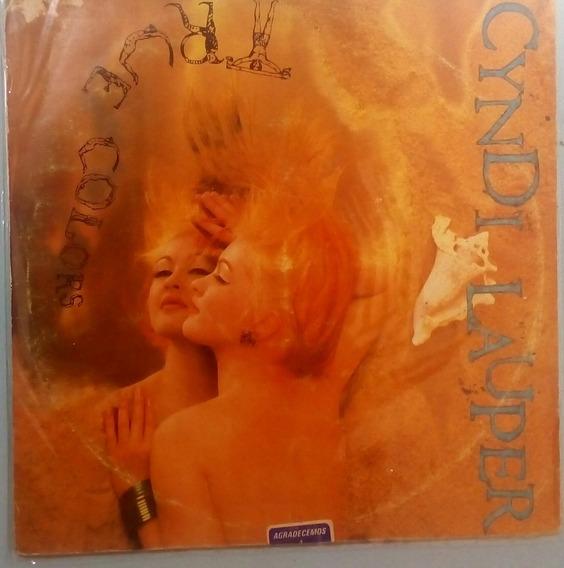 Lp Vinil Cyndi Lauper | True Colors - C Encarte 1986