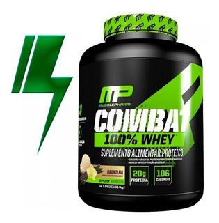 Combat 100% Whey 1,8kg Muscle Pharm Mp - Mercado Envio Full
