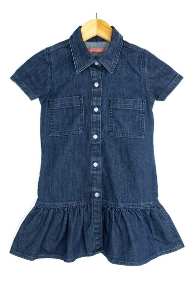 Vestido Innermotion De Mezclilla Para Niña Estilo 7166