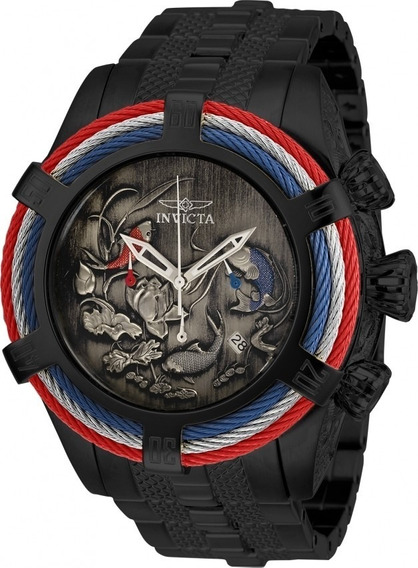 Relógio Invicta Bolt Zeus Koi Fish Lançamento Modelo 28204