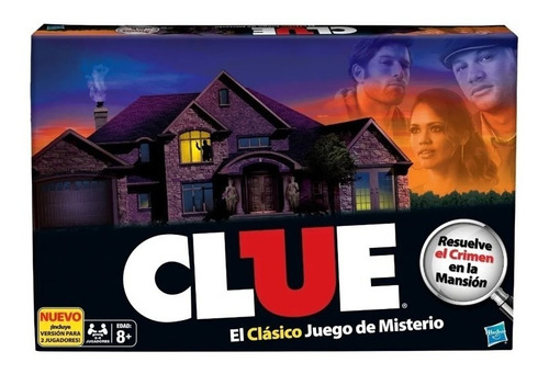 Clue El Juego Del Misterio. Original Hasbro.
