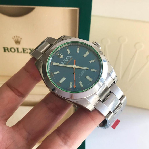 Rolex Milgauss Blue Dial 2019 Completo