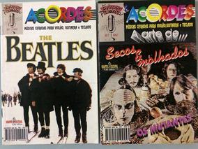 2 Revistas- Beatles / Secos Molhados -violão/teclado - Set09